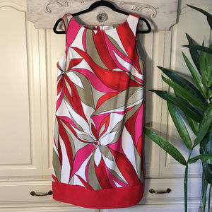 AB Studio Dresses - AB Studio Cocktail Printed Sleeveless Dress, Sz 12